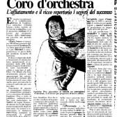 Coro d'orchestra