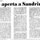 Lettera aperta a Sandrino Piva